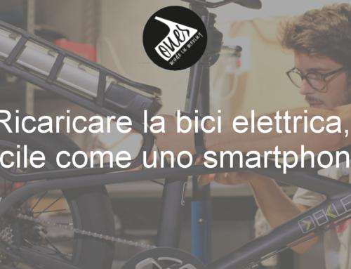 Ricaricare la bici elettrica, facile come uno smartphone!